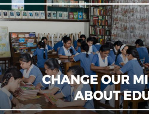 Change our Mindsets about Education